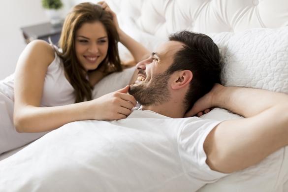 gemini man in bed